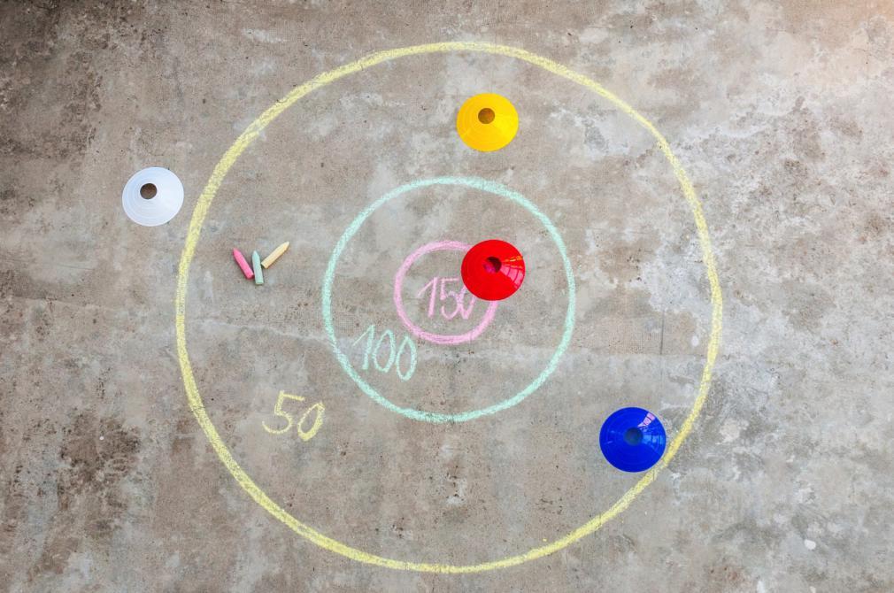 Direct la țintă: jocuri de echipă pentru copii