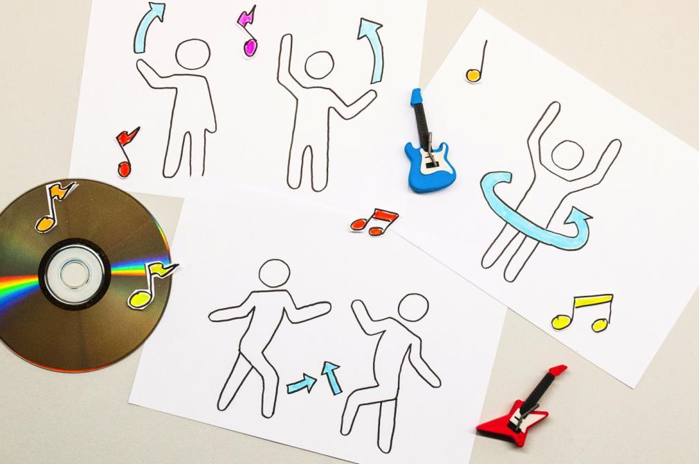 Dans, dans, dans – Coregrafie pentru copii