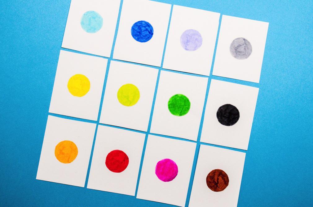 Forme & culori: Desene distractive cu preșcolarii