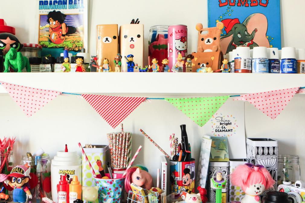 Decorează camera copilului cu stegulețe ghirlandă