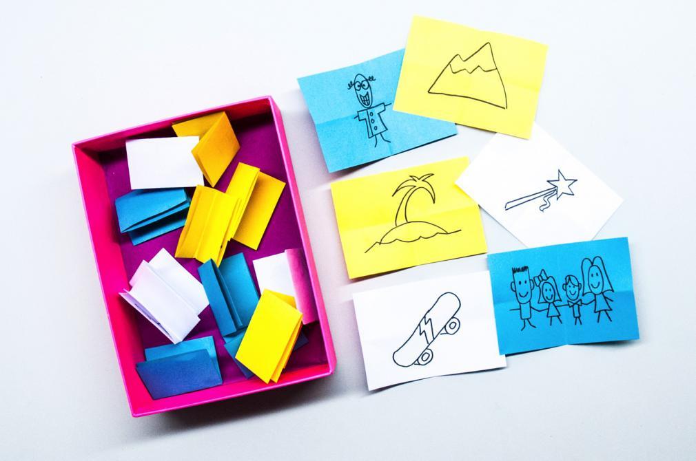 Cutia magică cu povești