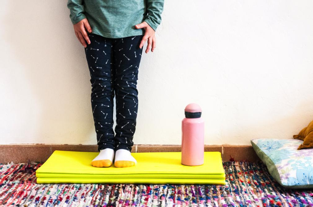 Yoga cu mami sau cu tati