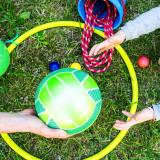 Three balloon games for outdoor family fun