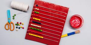 Primul meu abac: Uite cum număr până la zece