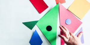 Un puzzle colorat