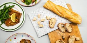 Reciclarea în bucătărie: pâine în toate formele