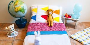 Pat ordonat: Copilul învață să își facă patul