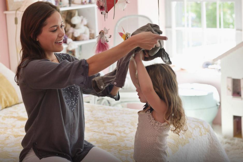 Învață-ți copilul cum să se îmbrace
