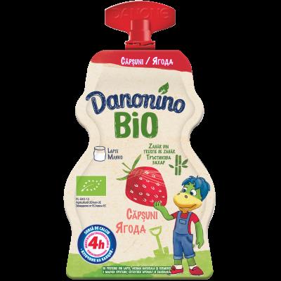 Danonino BIO căpșuni 70g