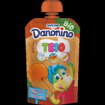 Danonino TRIO portocale 90g