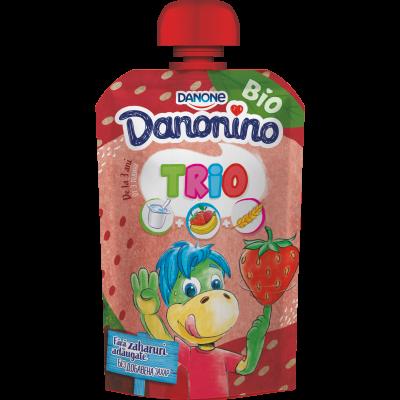Danonino TRIO căpșuni 90g