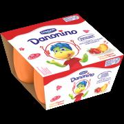 Danonino căpșuni/caise 4x50g