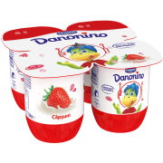 Danonino iaurt cu căpșuni 120g