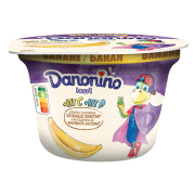 Danonino iaurt cu piure de banane, 3% grăsime